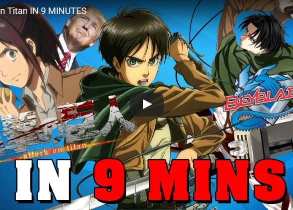 Attack on titan 9 minutos
