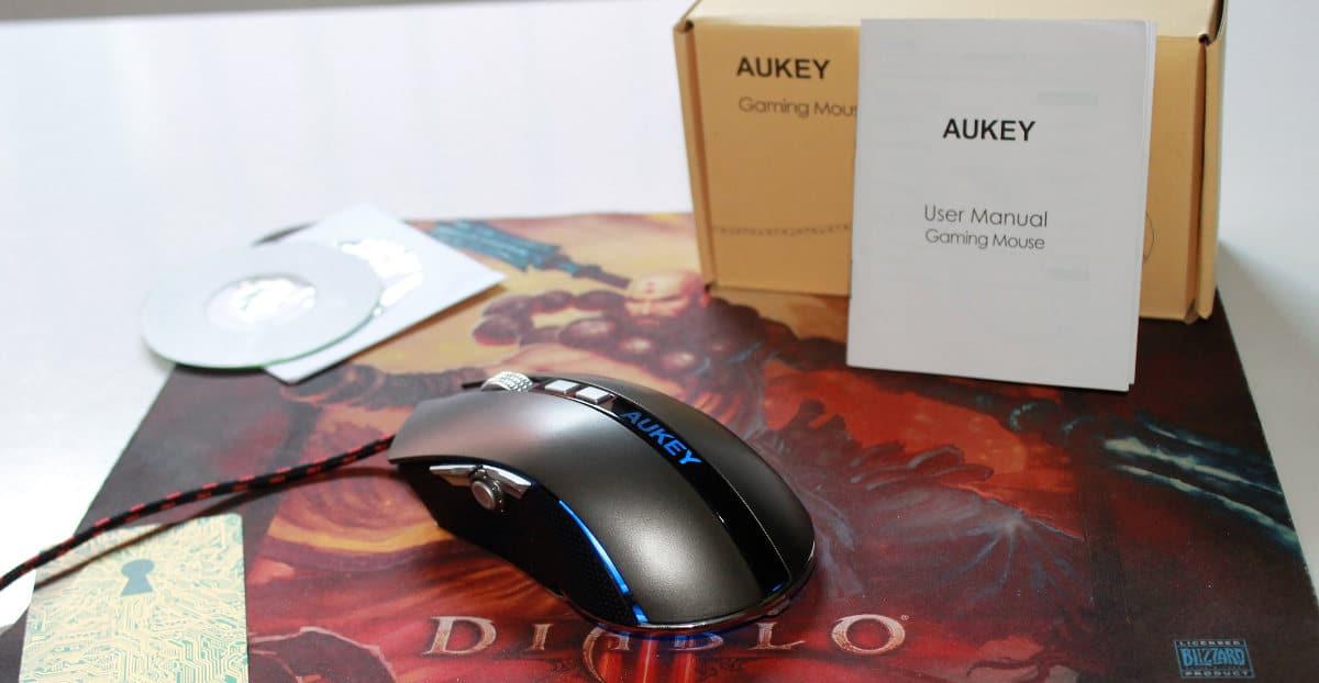 Aukey KM-C4 pack alfombrilla 1200