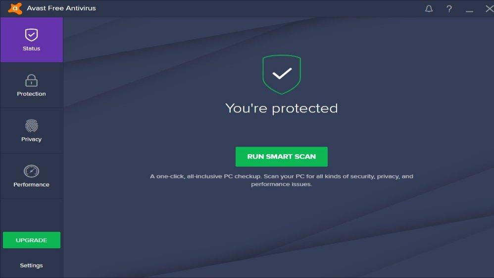 Avast! Free - top mejores antivirus gratuitos 2017