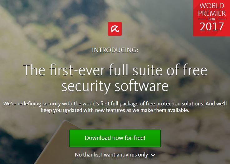 Avira - top mejores antivirus gratuitos 2017