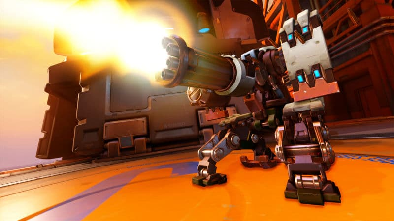 Bastion OP Overwatch