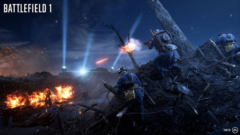 Battlefield 1 Nievelle Nights Mapa