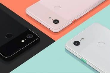 Cámara principal Google Pixel 3