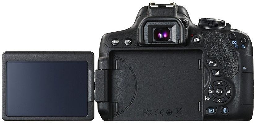 Cámara reflex Canon EOS 750D