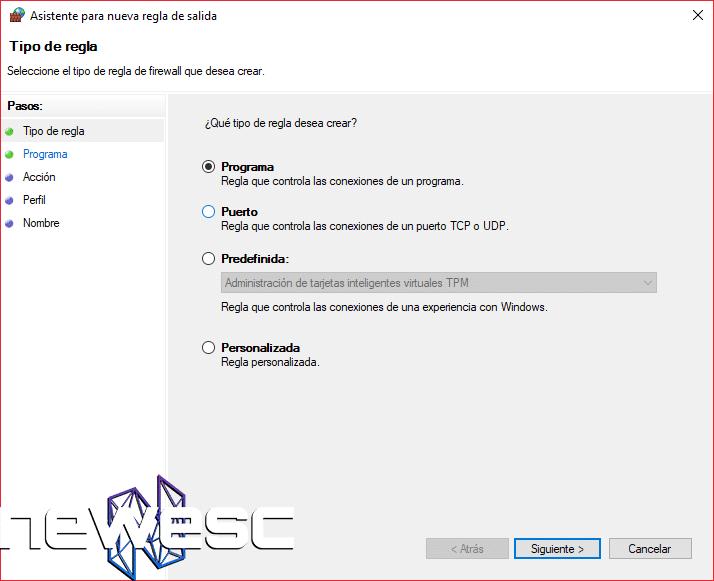 Cómo Bloquear un Programa con el Firewall de Windows 10 - 5