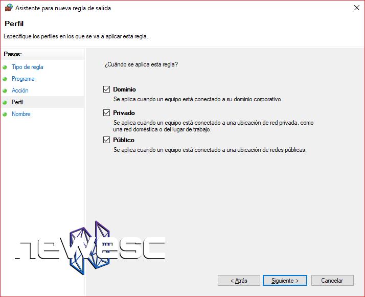 Cómo Bloquear un Programa con el Firewall de Windows 10 - 7