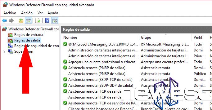 Cómo Bloquear un Programa con el Firewall de Windows 10 - reglas de salida