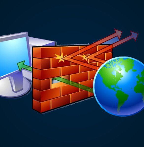 Cómo Desactivar el Firewall de Windows 10 y Bloquear programas