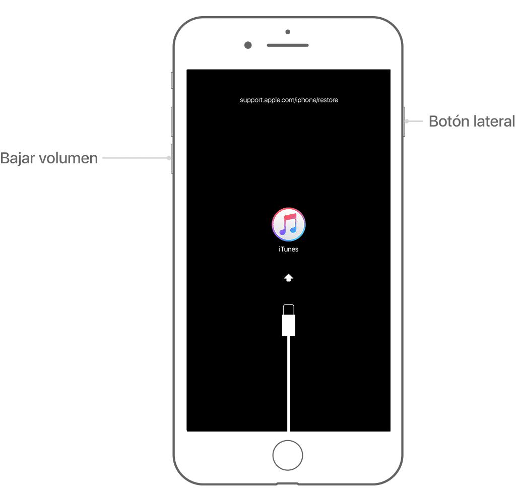 Cómo Desbloquear un iPhone desde iTunes Recovery 2