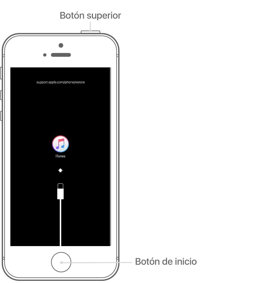 Cómo Desbloquear un iPhone desde iTunes Recovery 3