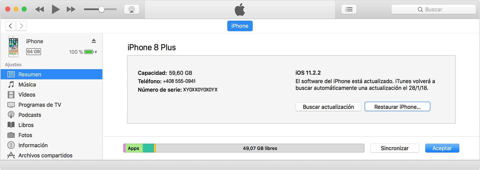 Cómo Desbloquear un iPhone desde iTunes