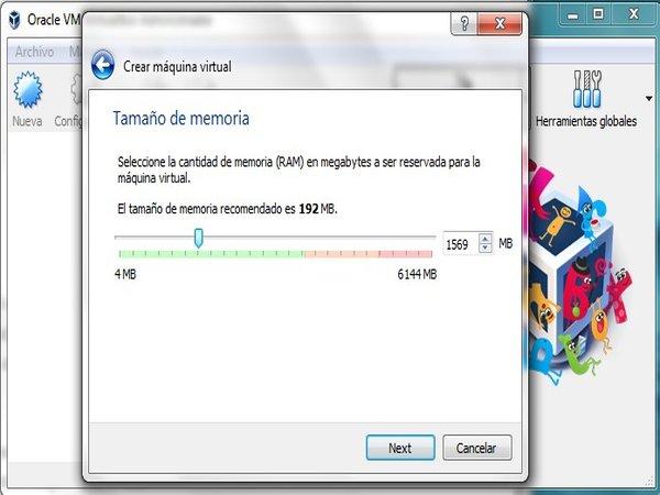 Cómo crear una máquina virtual paso 4
