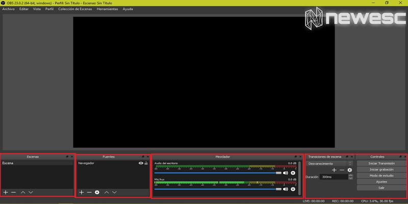 Cómo grabar la pantalla en Windows 10 con OBS 3
