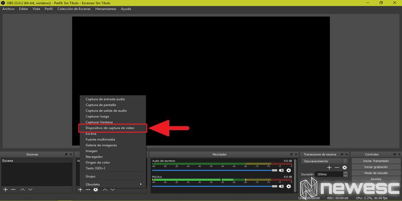Cómo grabar la pantalla en Windows 10 con OBS 4