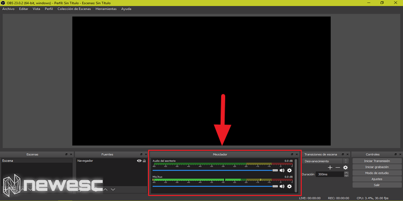 Cómo grabar la pantalla en Windows 10 con OBS 5
