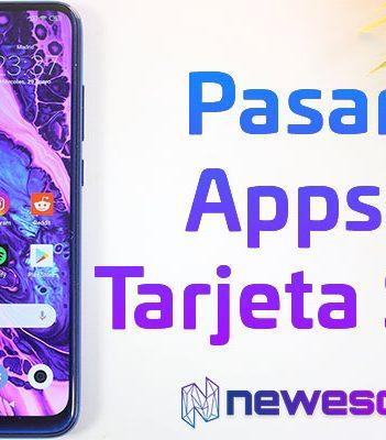 Cómo pasar Apps a la SD en Android