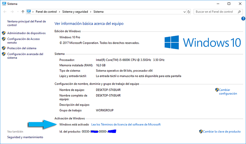 serial de oro windows 8.1 64 bits 2017