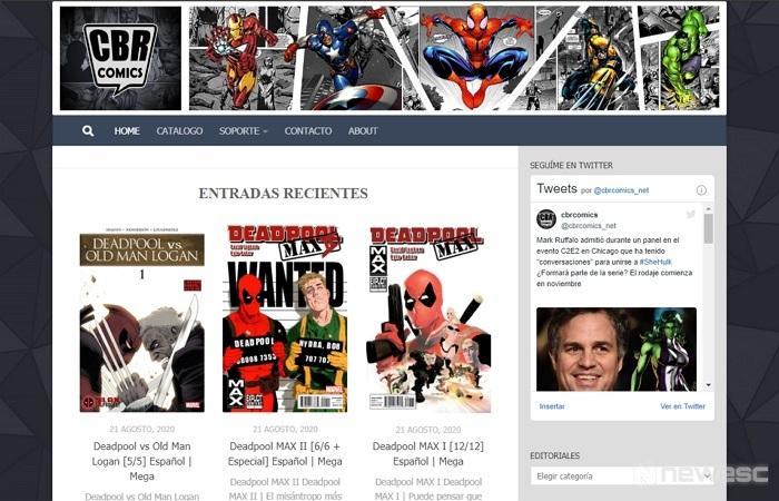 CBRcomics descargar cómics gratis