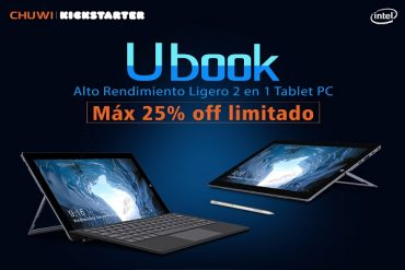 CHUWI Ubook promoción 25%
