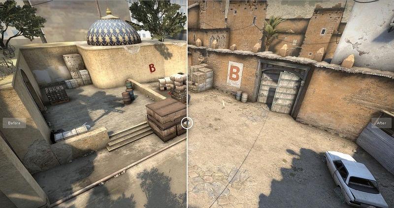 CS Dust II cambios