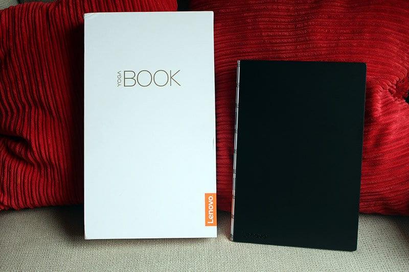 Caja y tablet Lenovo Yoga Book NewEsc
