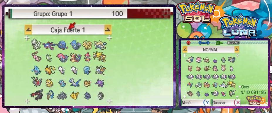 Cajas fuertes Banco Pokémon