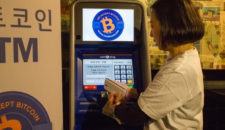 Cajero Bitcoin Corea del Sur Portada