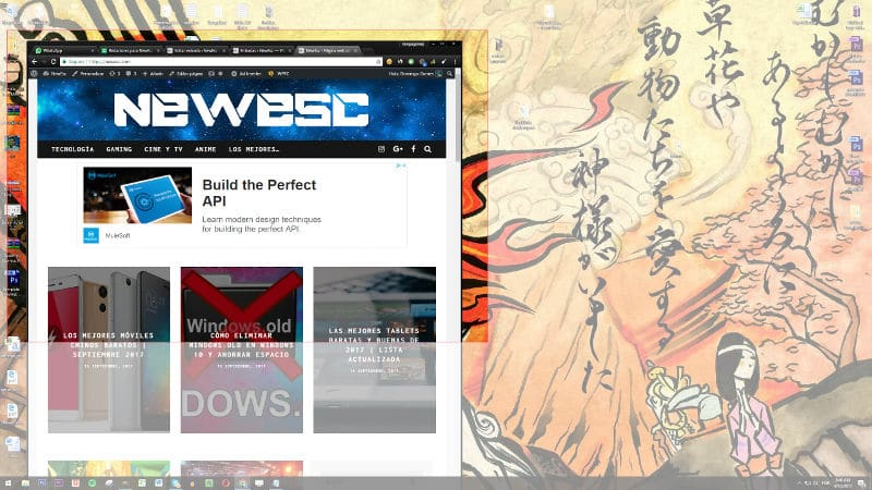 Captura de pantalla selectiva