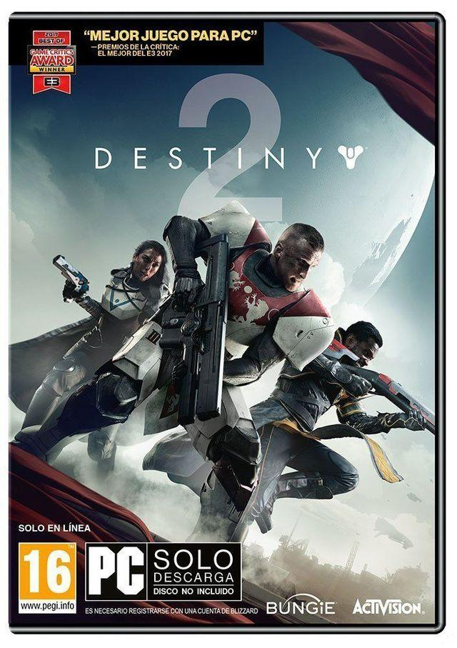 Caratula Destiny 2 para PC