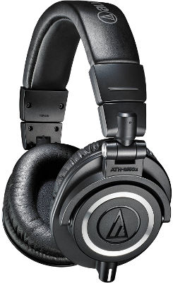 Cascos gamer Audio-Technica ATH M50x
