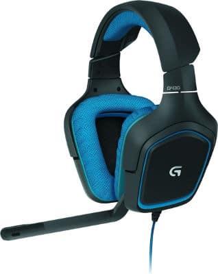 Cascos gaming Logitech G430