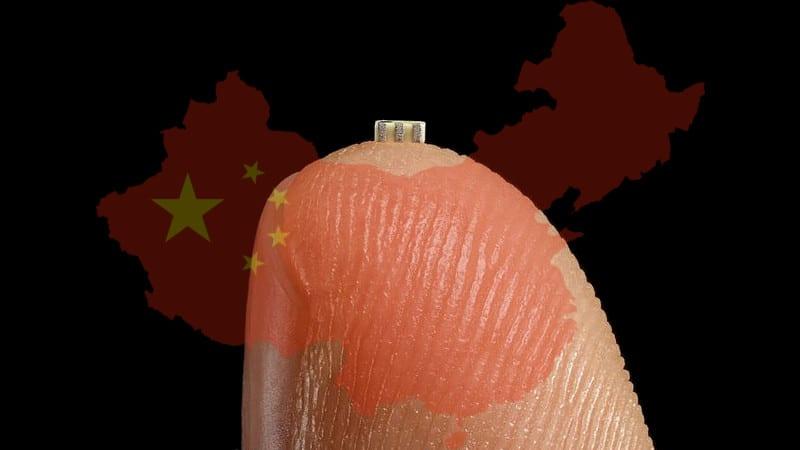 Chip espia chino