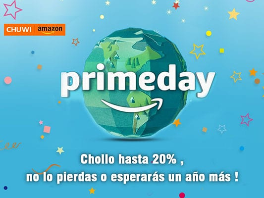 Chollos Chuwi Amazon Prime Day 2018