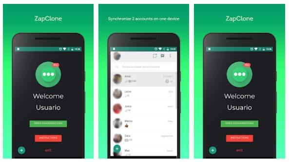 Clonar WhatsApp ZapClone