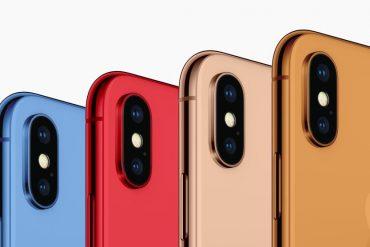 Colores de iPhones 2018