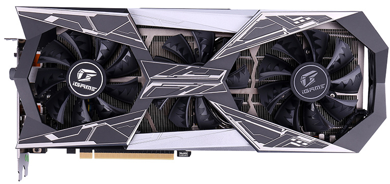 Colorful iGame GeForce RTX 2070 Vulcan X OC tarjeta gráfica frontal