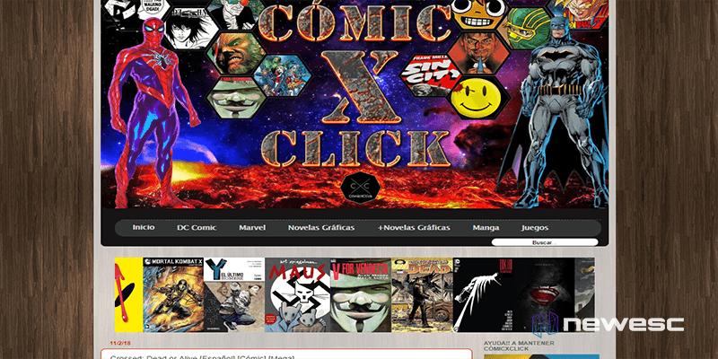 Comicxclic - descargar cómics gratis