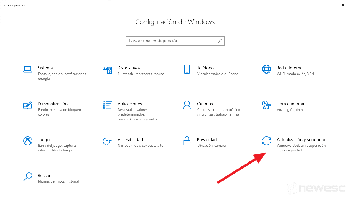 Como Actualizar Windows 10 con Windows Update 1