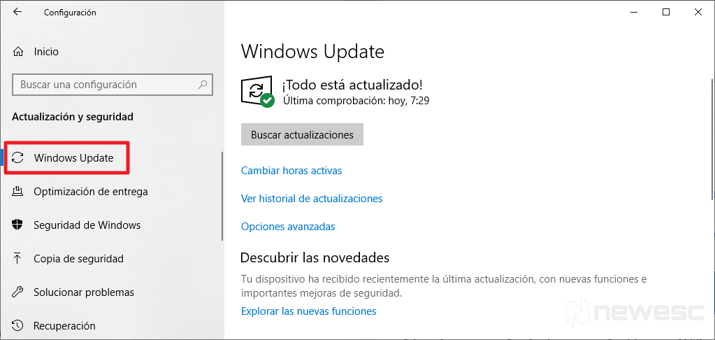 Como Actualizar Windows 10 con Windows Update 2