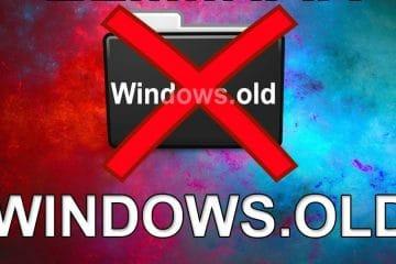 Como eliminar windows.old en Windows 10
