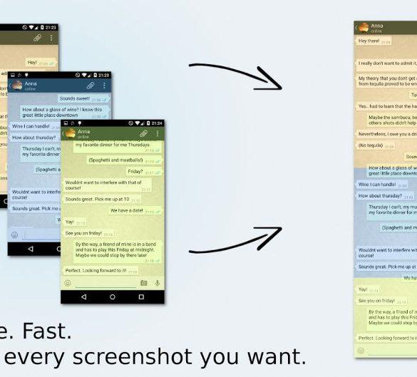 Como realizar una captura de pantalla completa de Whatsapp