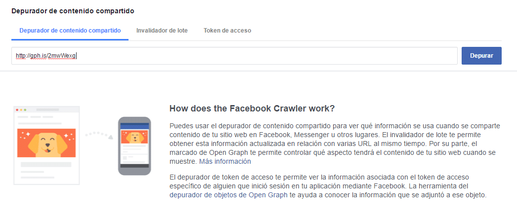 Como subir un GIF a Facebook - Depurador de contenido
