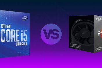 Comparativa Intel i5 10600K vs AMD Ryzen 3600X