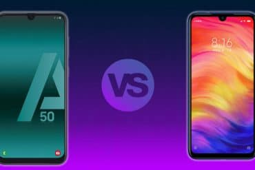 Comparativa Samsung A50 vs Redmi Note 7