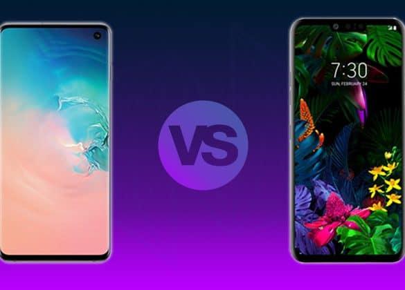 Comparativa Samsung S10 vs LG G8