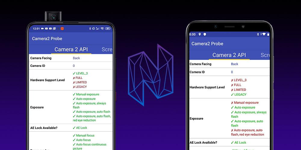 Comprobar API Camera2 Android Gcam