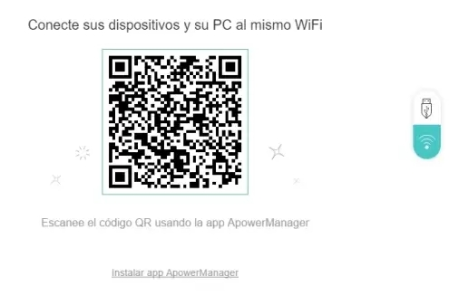 Conectar ApowerManager por WiFi