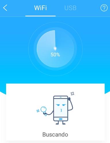Conectar ApowerMirror con WiFi