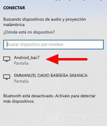Conectar PC a TV WiFi3