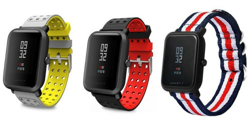 Correas review Xiaomi Huami AMAZFIT Bip